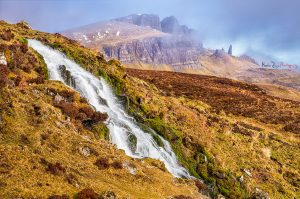 Bridal Veil Falls, Isle of Skye