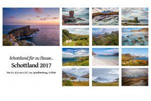 """Fotokalender """"Schottland 2017"""" von Martin Ziaja Photography"""