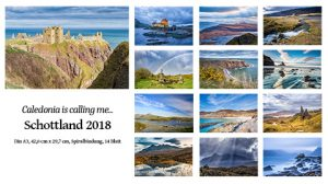 Vorschau zum Schottland-Kalender 2018