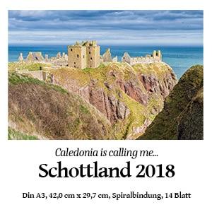 Schottland-Kalender 2018