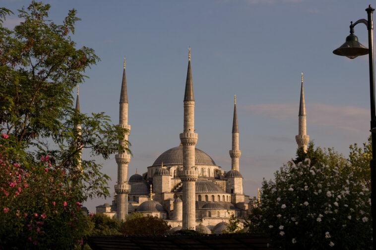 Blaue Moschee, Istanbul, Türkei von Martin Ziaja Photography