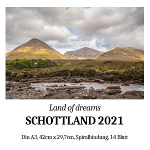 Wandkalender Schottland 2021
